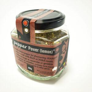 Pepper Power Lemon - 80g Jar