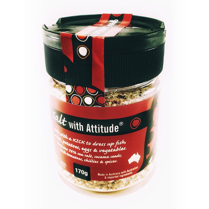 Salt with Attitude - 170g Shaker