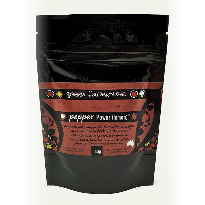 Pepper Power Lemon - 50g Sachet