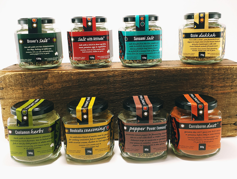 Green Farmhouse Seasonings and Salts, South Australia
