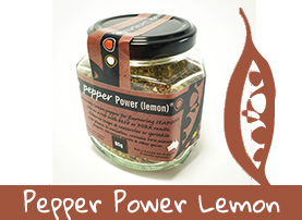 Green Farmhouse Pepper Power Lemon